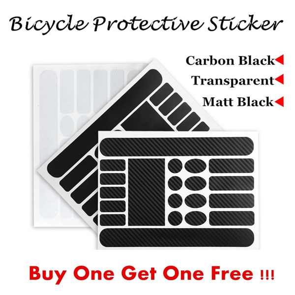 Mountain Bike Chain Protective Sticker For Road Bike Folding Frame Front Fork