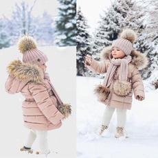 cute, girljacket, cottonjacket, Waterproof