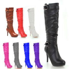 Knee High Boots, Moda, Invierno, Womens Shoes
