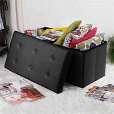 leatherstool, Box, Modern, footstool