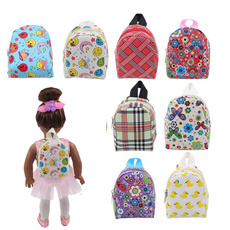 doublestrap, Colorful, doll, Backpacks