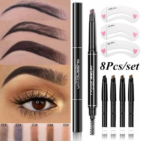 pencil, stencil, eye, Beauty