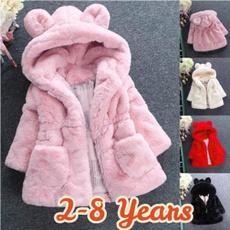 fur coat, Fashion, kids clothes, Winter
