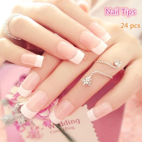 fakenailtip, manicure, Beauty, FRENCH