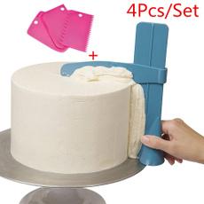cakecookingtool, adjustablecakescraper, Tool, cakesmoothertool