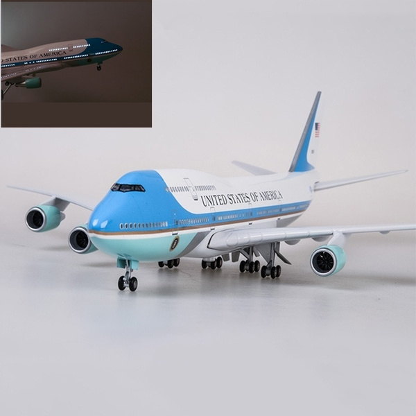 47cm Airplane Model Toys Boeing 747 Air Force One Aircraft Model