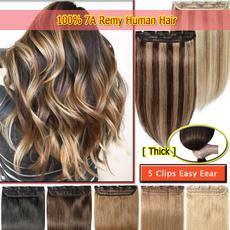 thickhair, Hairpieces, Hair Extensions, human hair