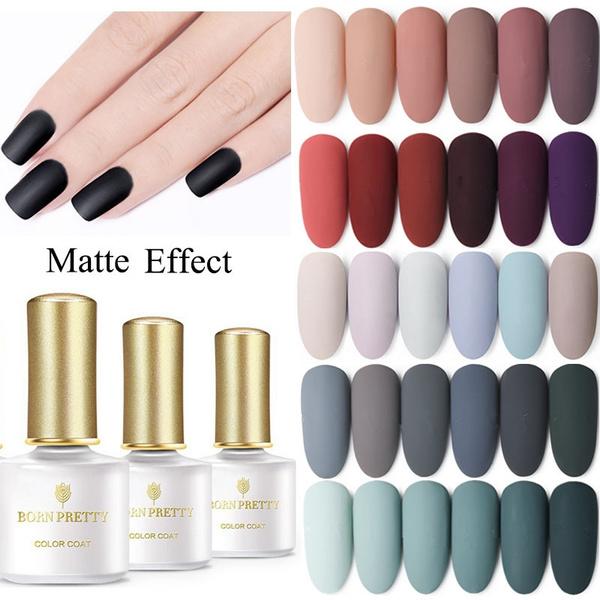 10ml Autumn Winter Gray Series Matte Dull Gel Nail Polish Fashion Women Beauty Nail Uv Gel Matte Top Coat Needed