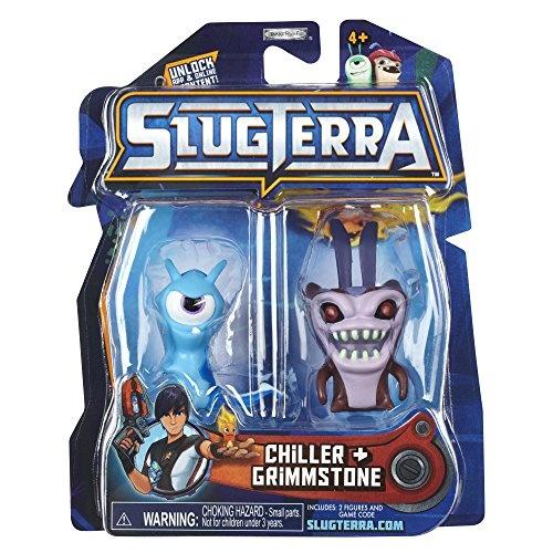 Slugterra Series 2 Chiller /& Grimmstone Mini Figure 2-Pack by Animewild Toy