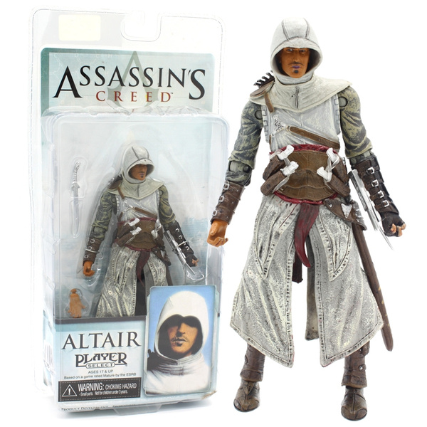 Neca Assassin S Creed Figures Toy Altair Player Select Pvc Action Figure Collectible Model Toys Wish
