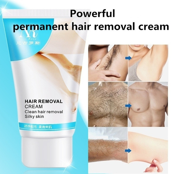 Hot Sale Nr Powerful Permanent Hair Removal Cream Stop Hair Growth Inhibitor Removal Wish
