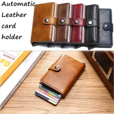 leather wallet, Fashion, Money Clip Wallet, leather