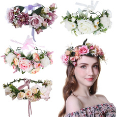 bridehairband, bohemia, bridalheaddre, Garland