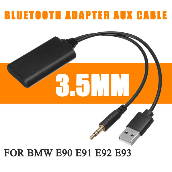 Car Bluetooth Module Radio Aux Receiver Cable Adapter USB Cable  For BMW E90