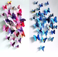 Beautiful, butterfly, Decor, art