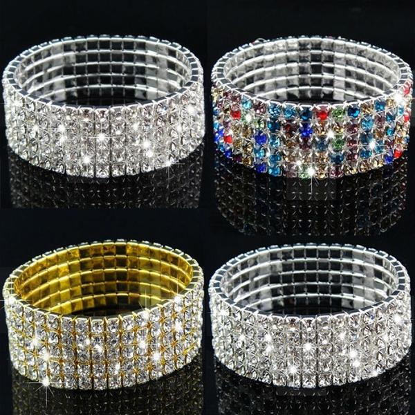 Sparkly, Fashion, Jewelry, Elastic