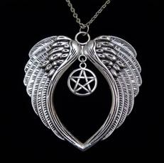 wiccan, Jewelry, Angel, Choker