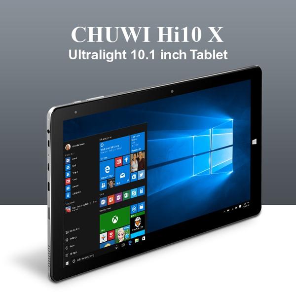 Chuwi Tablet Hi10 Air Windows 10 OS Intel Cherry Trail-T3 Z8350 Quad Core  10 1 Inch 1920*1200IPS WIFI 2Camera 3A Fast Charging Phablet