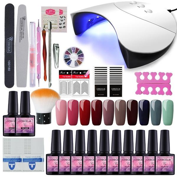 Nail salon, led, manicure, Beauty