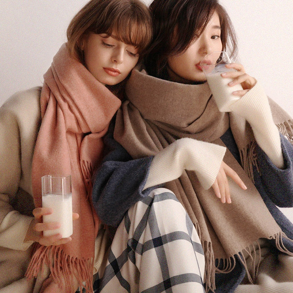 Fashion, Ladies Fashion, Cashmere Scarf, Winter