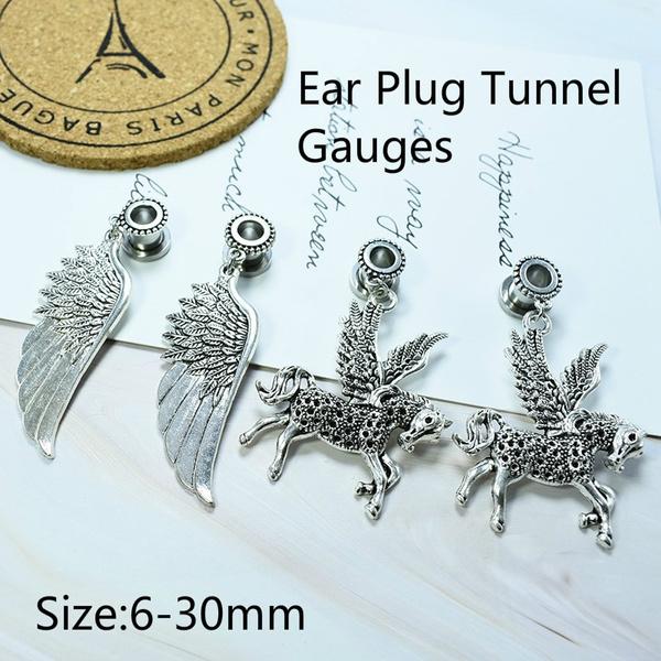 Steel, gaugeearring, Stainless Steel, Jewelry