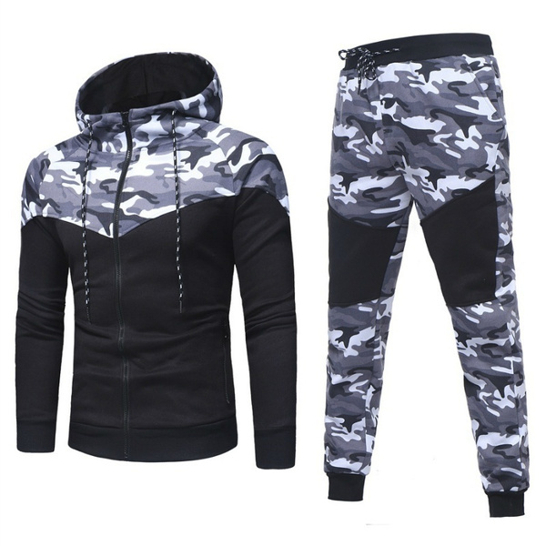 Fashion, sport pants, hoody tracksuit, Men