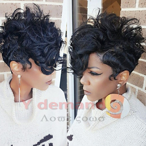 Y- D New Style Synthetic Wigs for Women Short