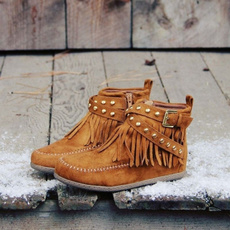 Winter, Womens Shoes, Cowboy, short boots