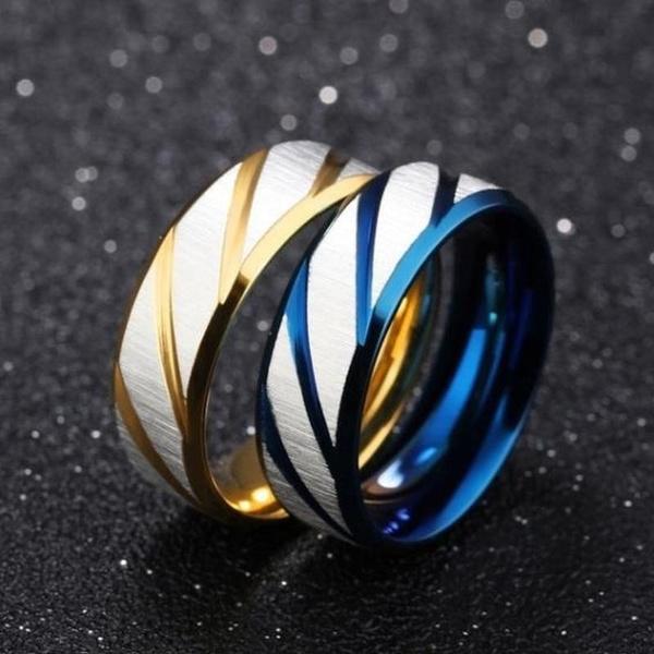 Couple Rings, 8MM, Fashion, wedding ring