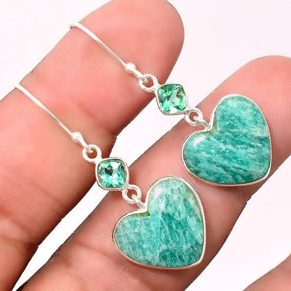 Heart, Gifts, Sterling Silver Earrings, Earring