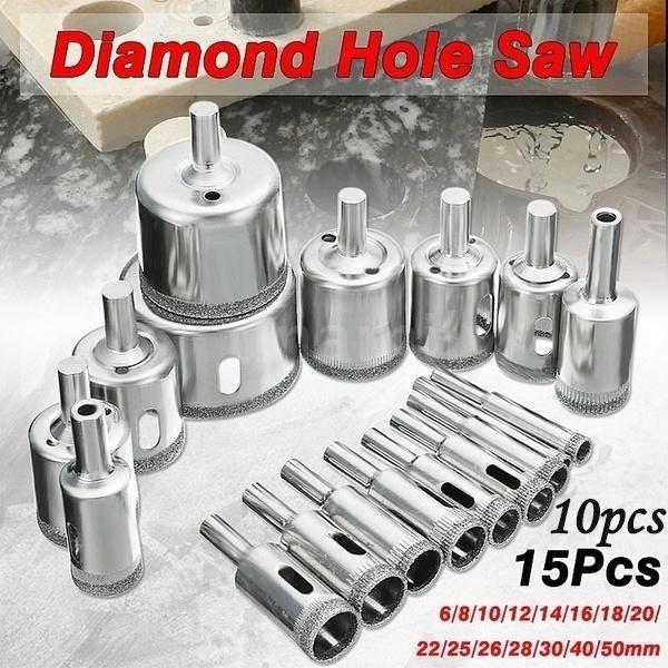 marbledriller, DIAMOND, Jewelry, glassgranitedriller