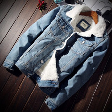 Moda, wool coat, Coat, Mezclilla