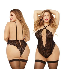 Underwear, Plus Size, bodysuitlingere, Lace