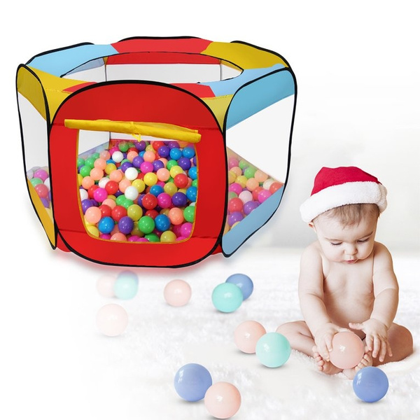 Kids Children Portable Ball Pit Pool Play Tent for Baby Indoor Outdoor Game Toy