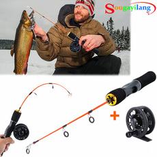 Mini, fishingrodreel, Winter, fishingrod