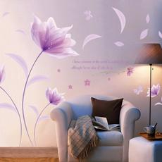 Flowers, Wall Art, walldecoration, christmasflowerswallsticker