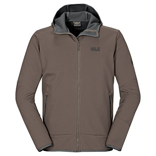 new product 3a845 79e98 Jack Wolfskin Men's Glacier Valley II Jacket, Small, Siltstone