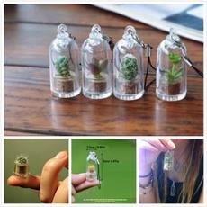 Plants, wearableliveplantpendant, Jewelry, succulentcactusglassbottle