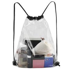 Drawstring Bags, transparent backpack, waterproofclearbag, transparentdrawstringbackpack
