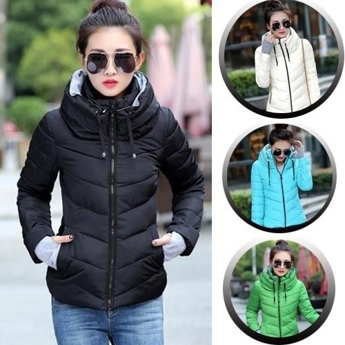 Jacket, Plus Size, Winter, cottonpaddedjacket