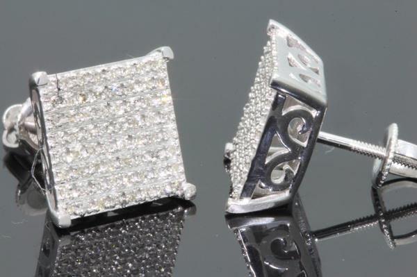 White Gold, Gemstone Earrings, Sterling Silver Earrings, Earring