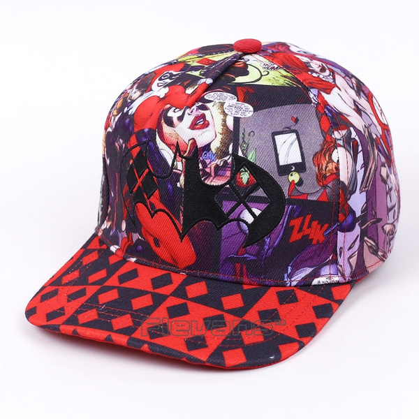 Suicide Squad Harley Quinn Snapback Caps Cool Hat Fashion Baseball Cap Bboy Hip Hop Hats For Men Women by Wish