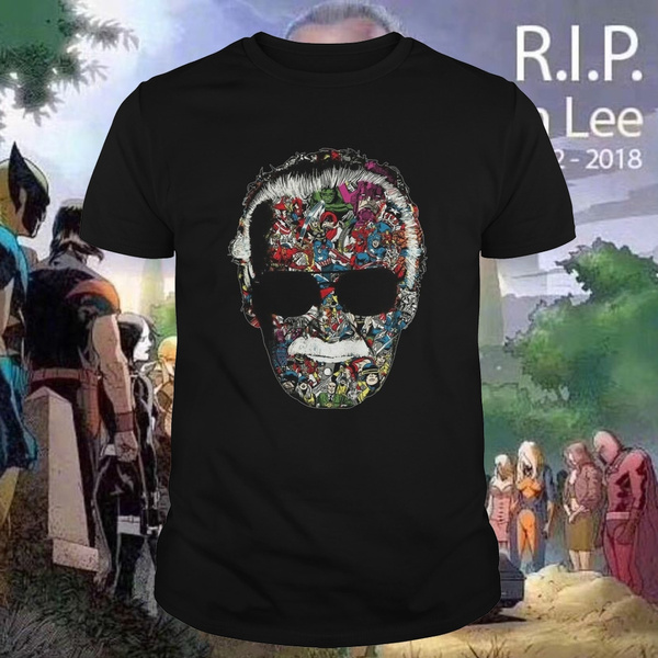 f9a88c93 Stan Lee Marvel Universe Comic book T-shirt | Wish