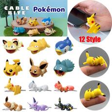 Creative Pokemon Pikachu Cable Protector Cartoons Cute