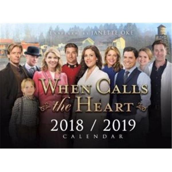 When Calls The Heart Christmas 2019.Edify Films 153864 When Calls The Heart 2018 2019 Calendar