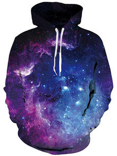Fashion, Galaxy hoodie, pullover hoodie, Colorful