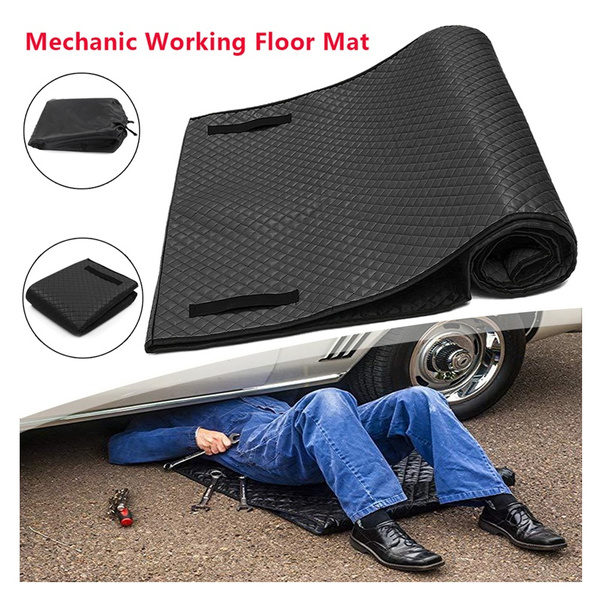 70cmx150cm Car Creeper Rolling Pad For Working On The Ground Repair Accessories