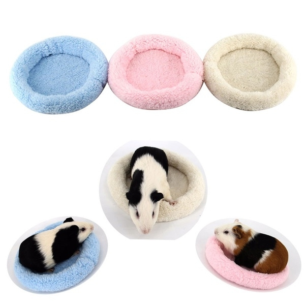 Soft Fleece Winter Small Animal Cage Guinea Pig Bed Mat Hamster Sleeping Bed