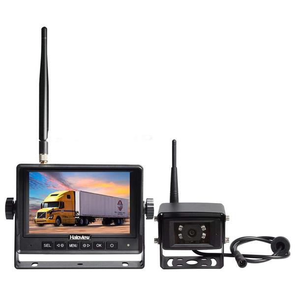 Haloview Mc5101 Digital Wireless Backup Camera System Kit 5 Lcd Reversing Monitor And Ip69k Waterproof Rear View Camera For