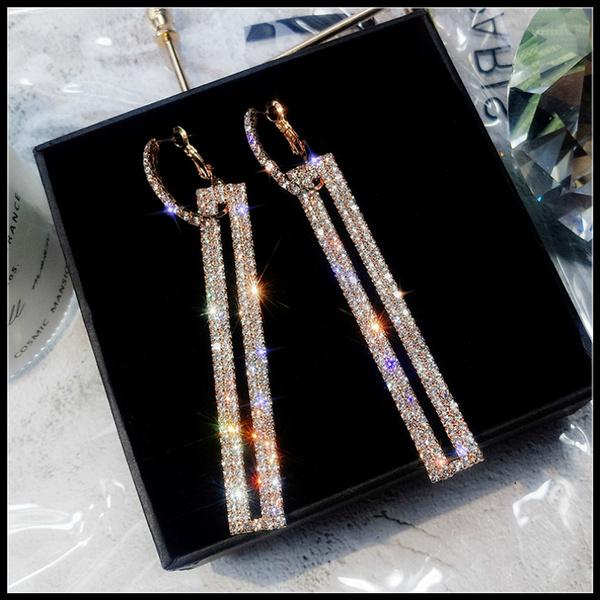 Women, Dangle Earring, Jewelry, gold
